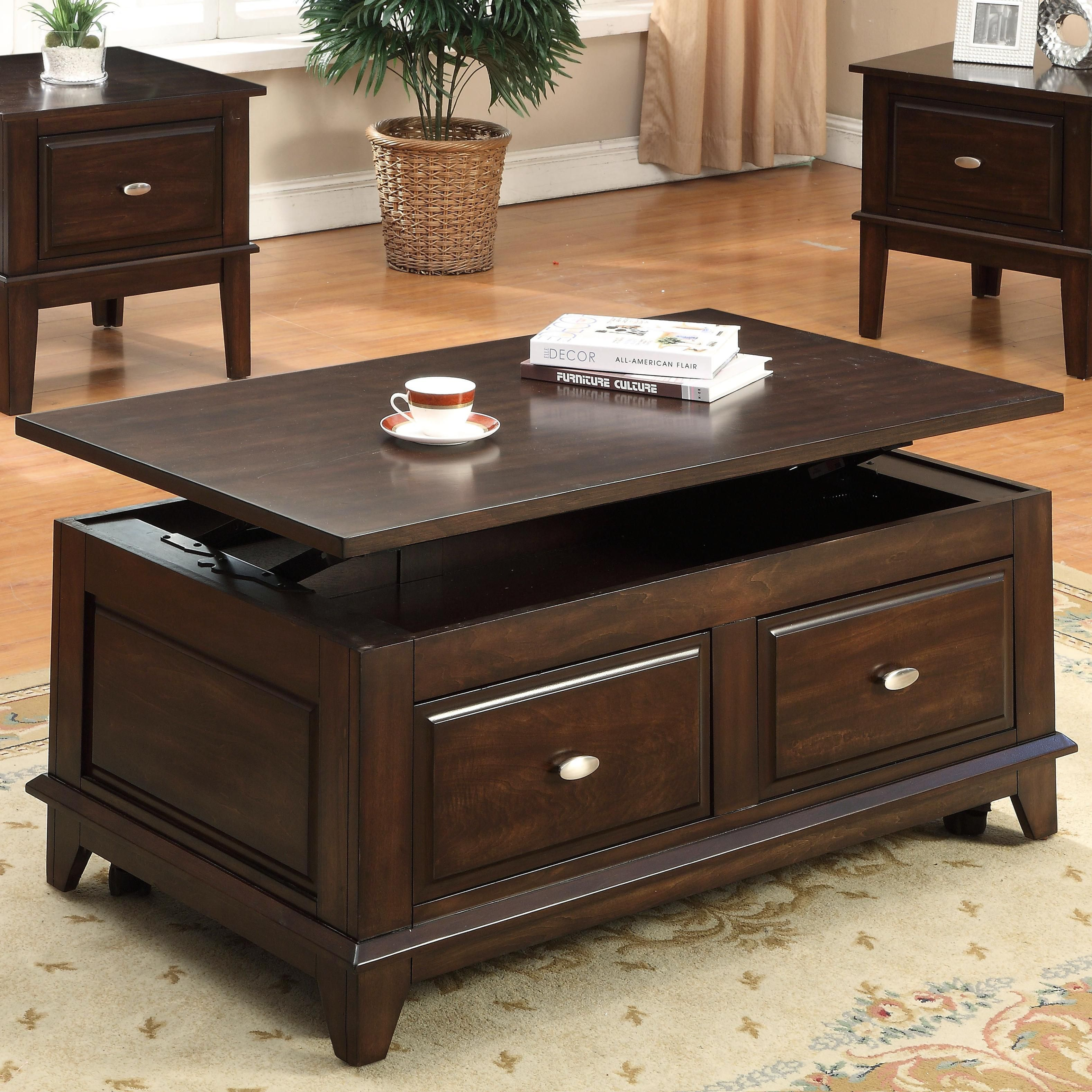 With Classic Style And Enough Room To Store All Your Belongings Our Harmon Lift Top Coffe Coffee Table Sofa Table With Storage Lift Top Coffee Table