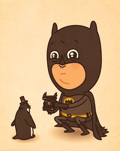 "batman-""Just Like Us"" - Mike Mitchell"
