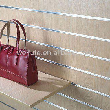 Shop Fitting Aluminium Slatwall Display Find Complete Details