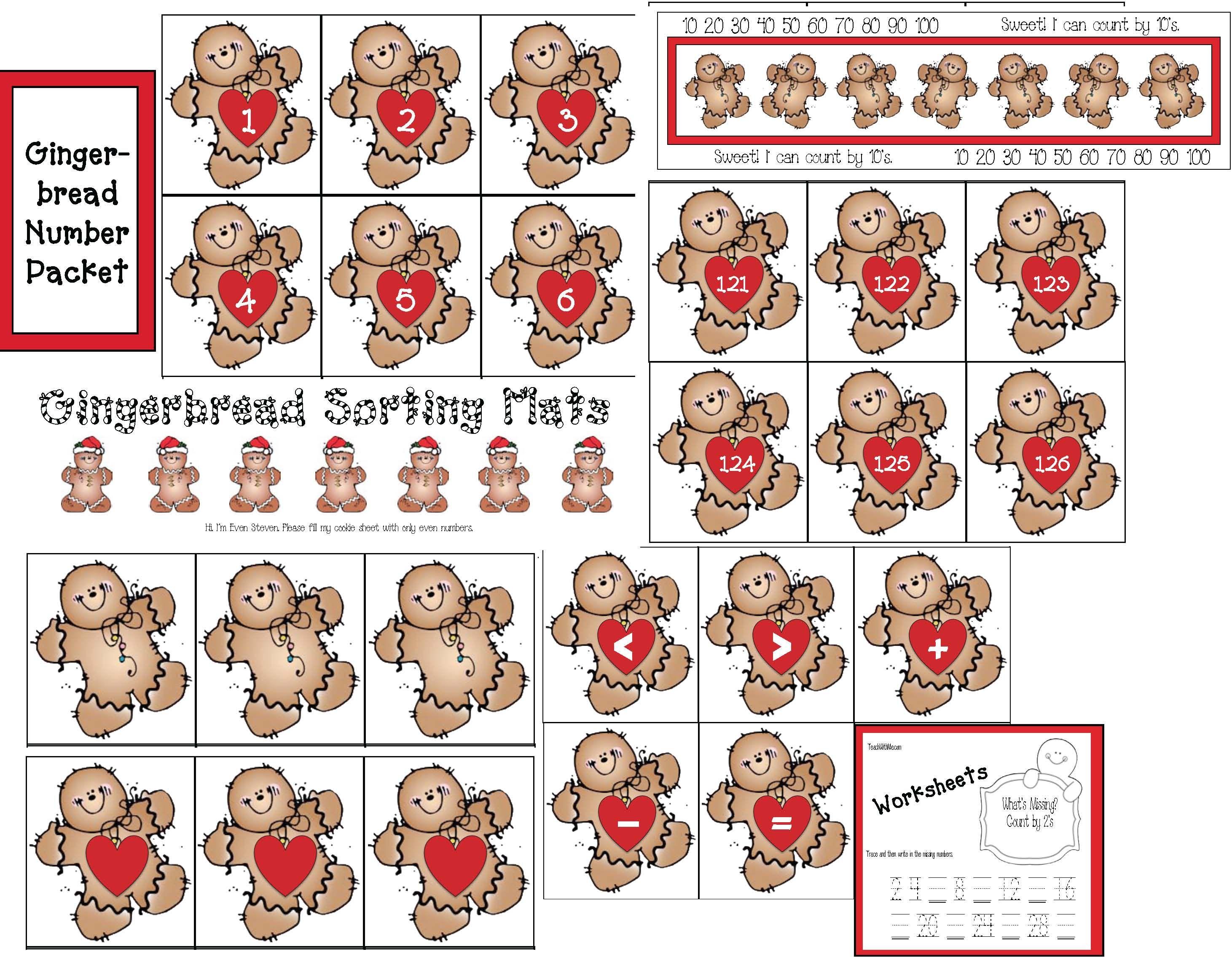 Gingerbread Number Fun