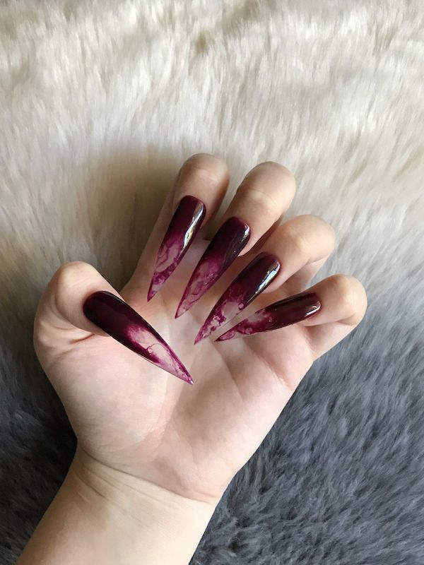The 25+ best Blood nails ideas on Pinterest