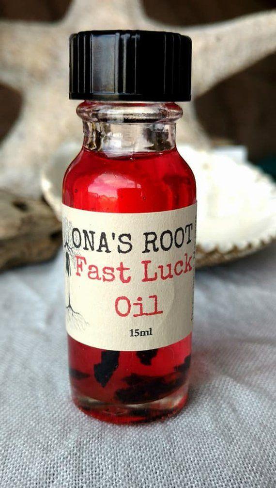 Fast Luck Oil, Lucky oil, Gambling Oil, Money oil, Conjure