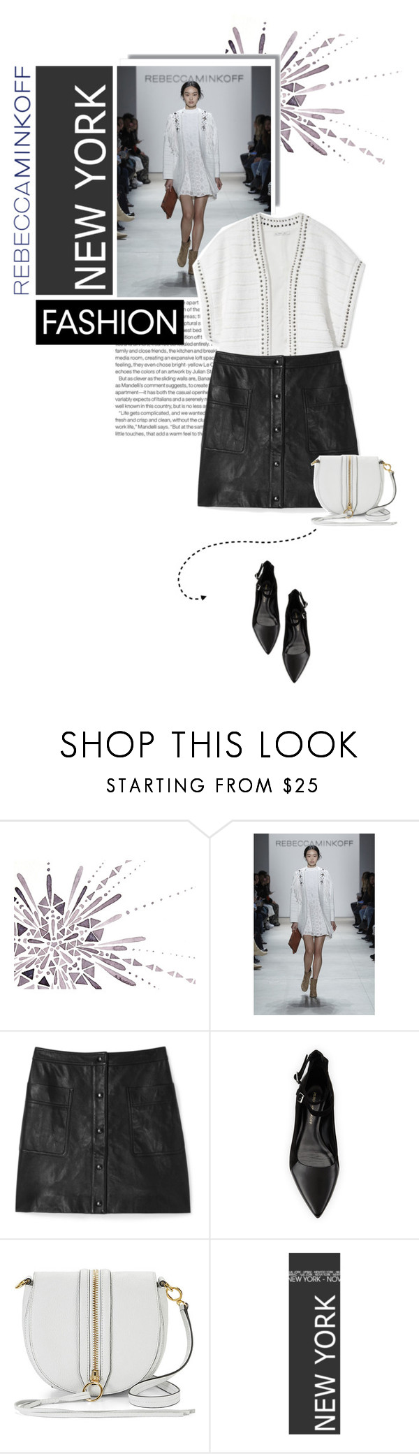 """""""Rm 2"""" by eve-angermayer ❤ liked on Polyvore featuring Elle, Rebecca Minkoff, women's clothing, women, female, woman, misses and juniors"""
