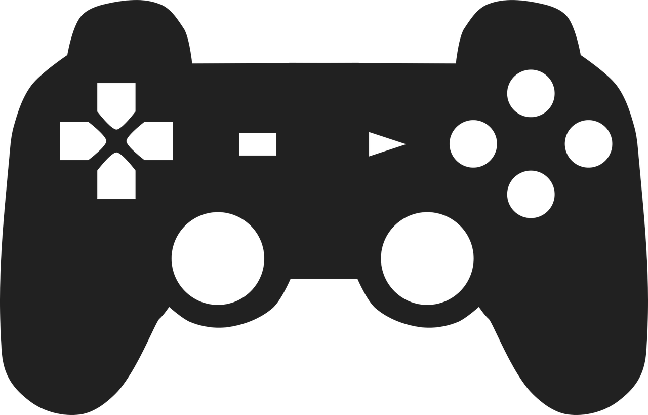 Video Game Controller Joystick Vector Illustration Controller Clipart Games Controller Joystick Png And Vector With Transparent Background For Free Download Game Icon Design Video Game Controller Classic Video Games