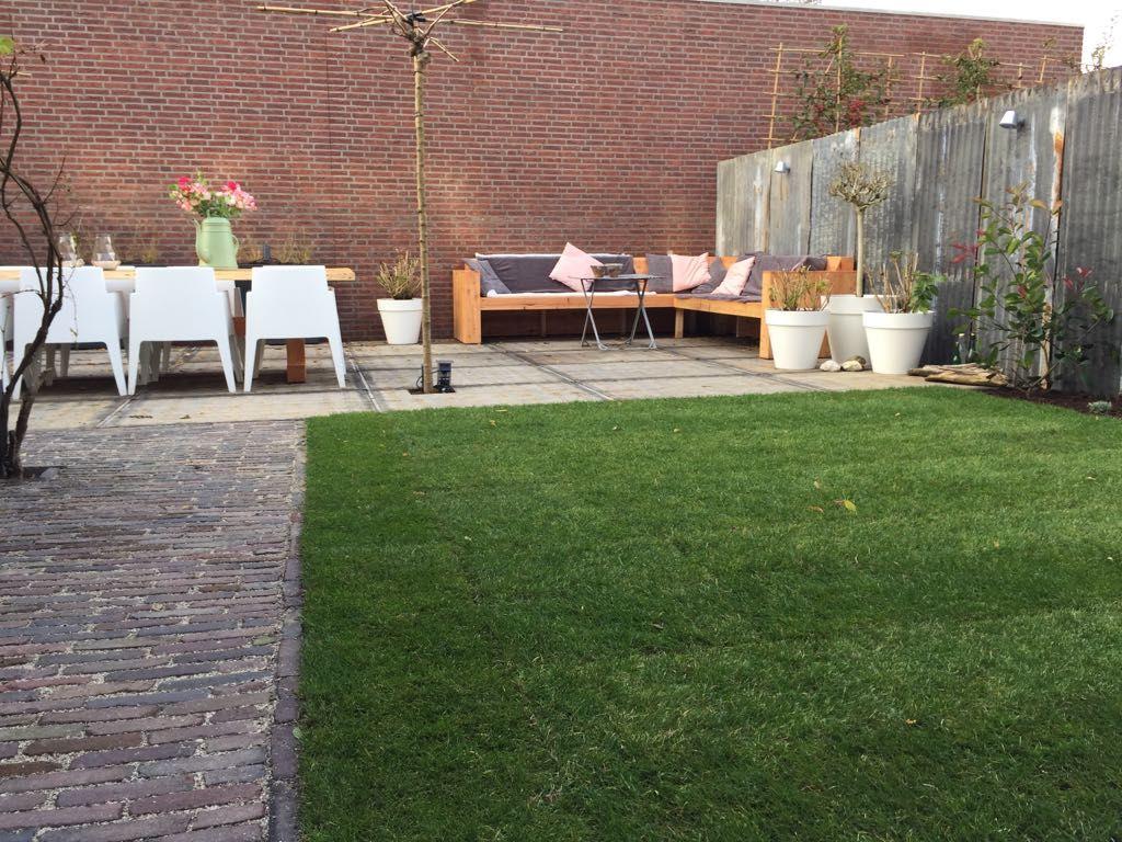 Terras van steenschotten garden gardens