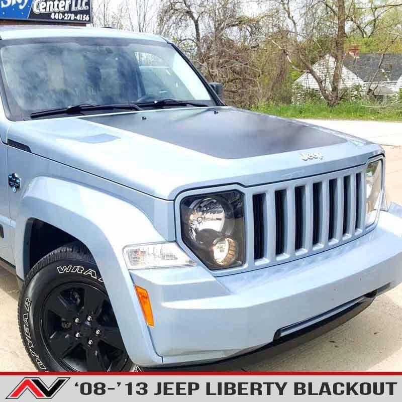 Jeep Liberty Kk Blackout 08 13 Alphavinyl Jeep Liberty Jeep