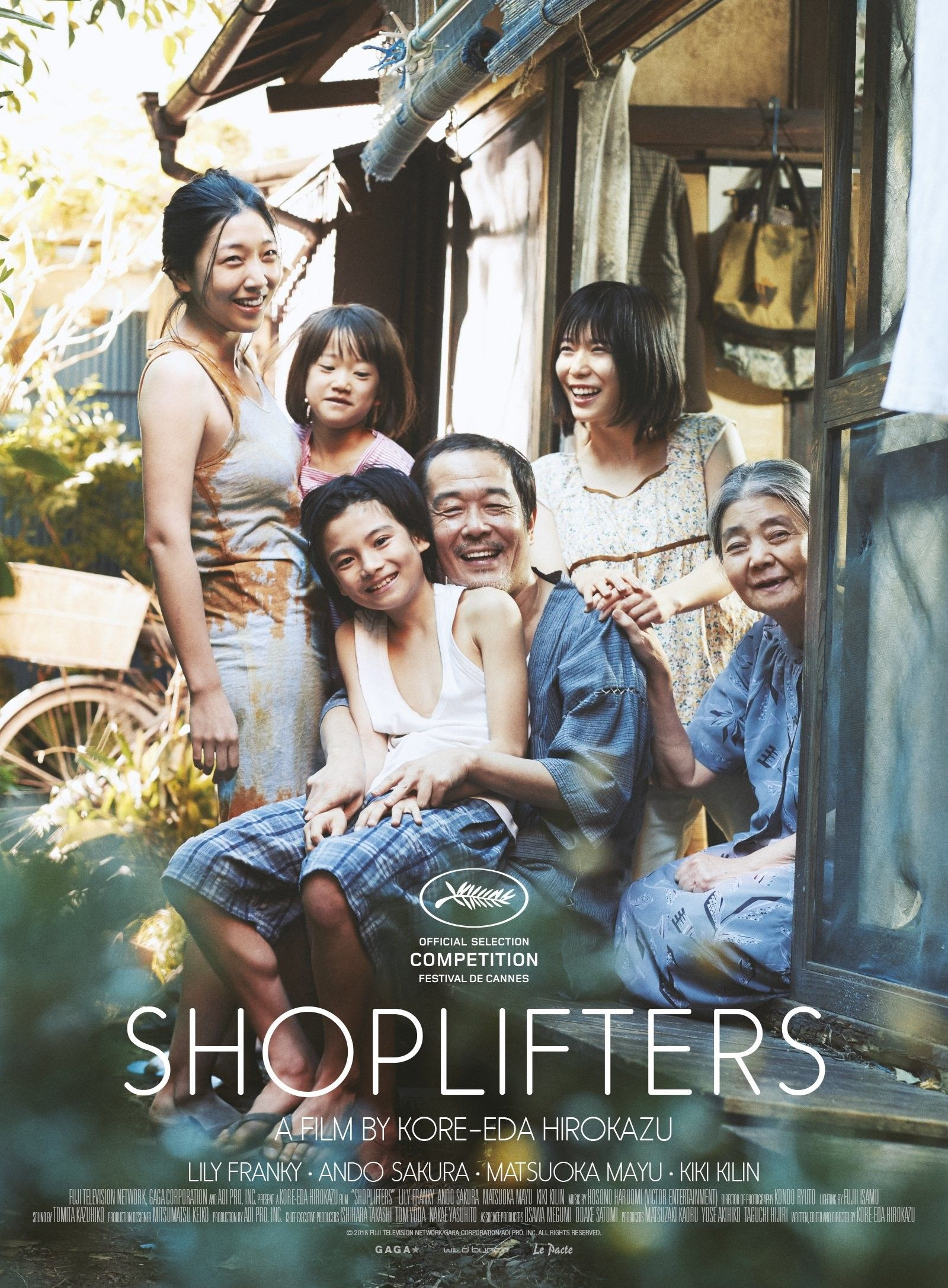 Shoplifters Reviews Assuntos de família