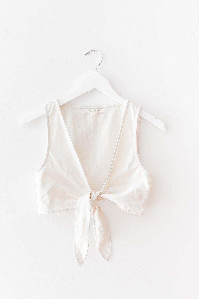 Verona Front Tie Top | Love street apparel, Front tie top