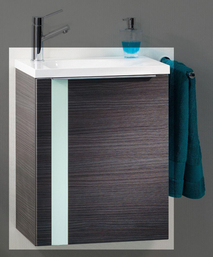 Lanzet Vedro Gäste-WC 50 cm links, Dark Oak - Mint Jetzt bestellen ...