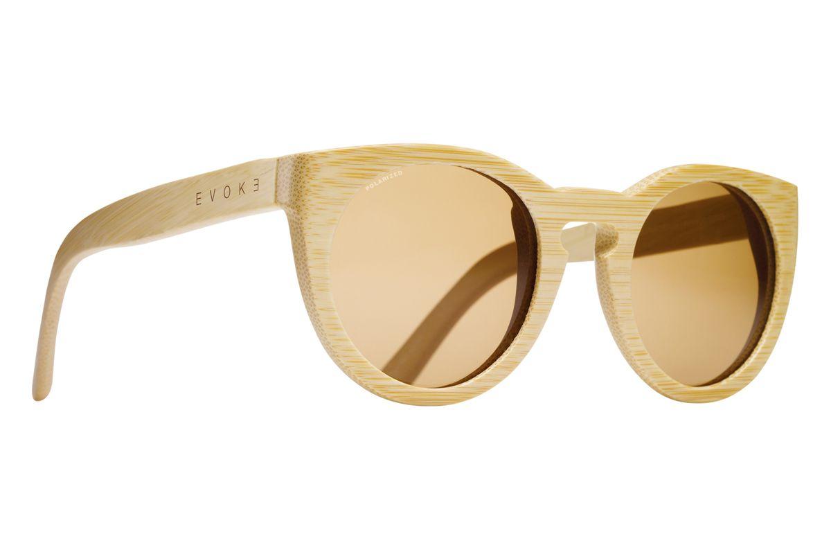 2d720e030 Wood Series 03 Clear Wood Laser Brown Polarized. Óculos em bambu feito à  mão na Itália. Máxima qualidade e estilo.