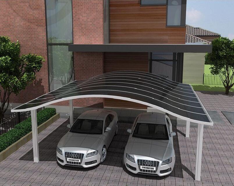 Aluminum Carport Car Canopy Garages Canopies Carports Plastic Polycarbonate Roof