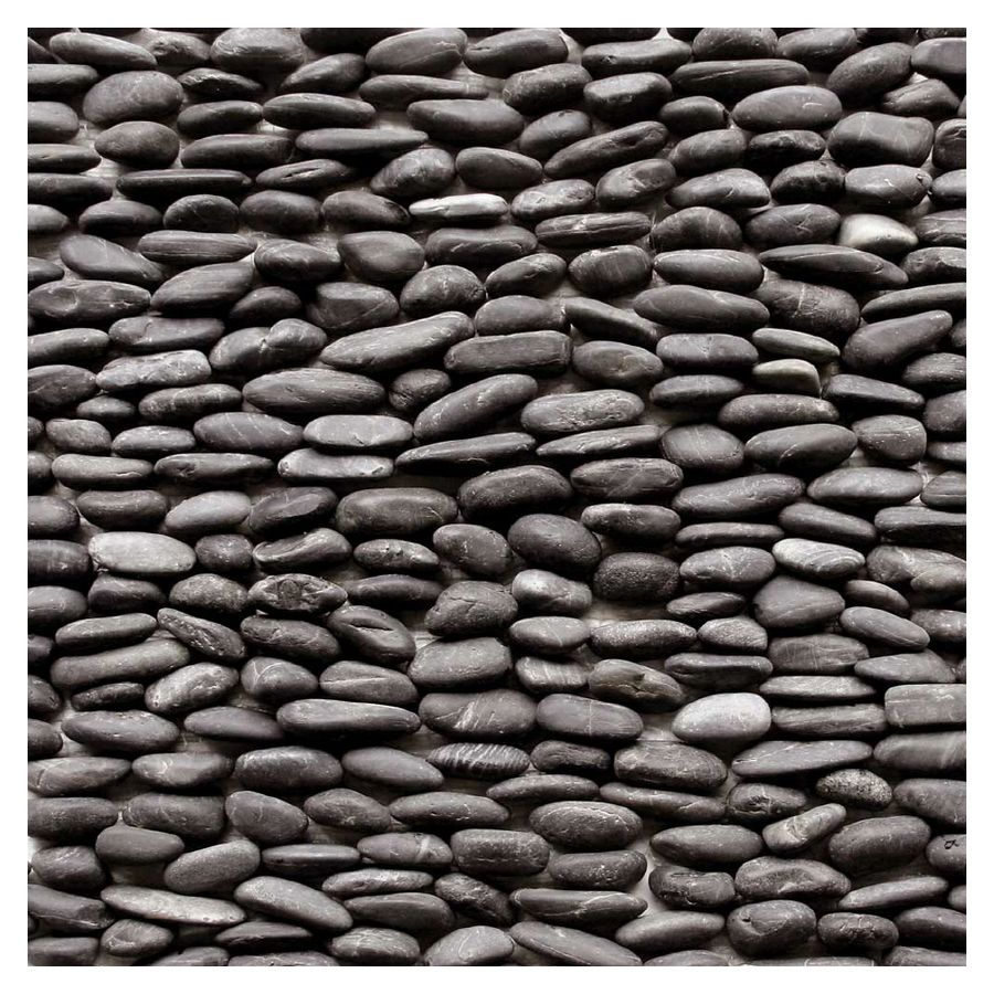 Decorative Stone Wall Tiles Shop Solistone 15Pack 4In X 12In Standing Decorative Pebbles