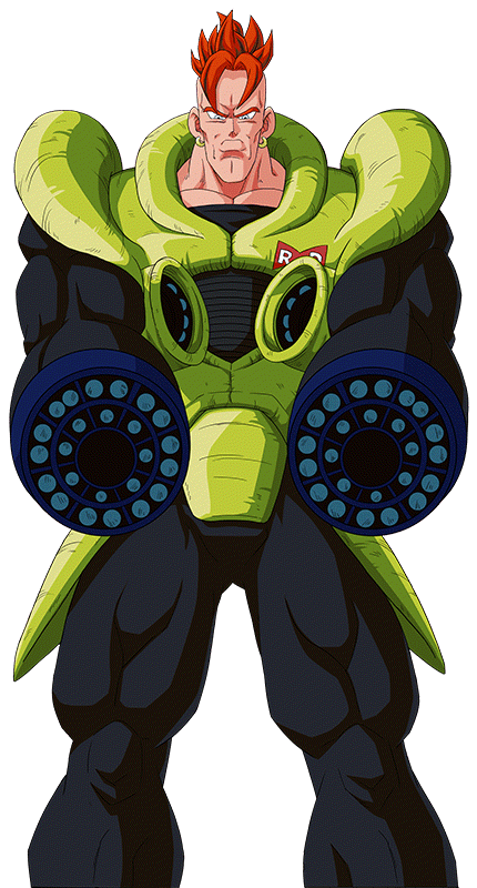 Android 16 Render 7 Dokkan Battle By Maxiuchiha22 On Deviantart Dragon Ball Art Dragon Ball Artwork Anime King