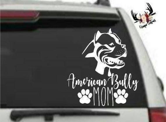 AMERICAN BULLY DOG sticker car decal window laptop