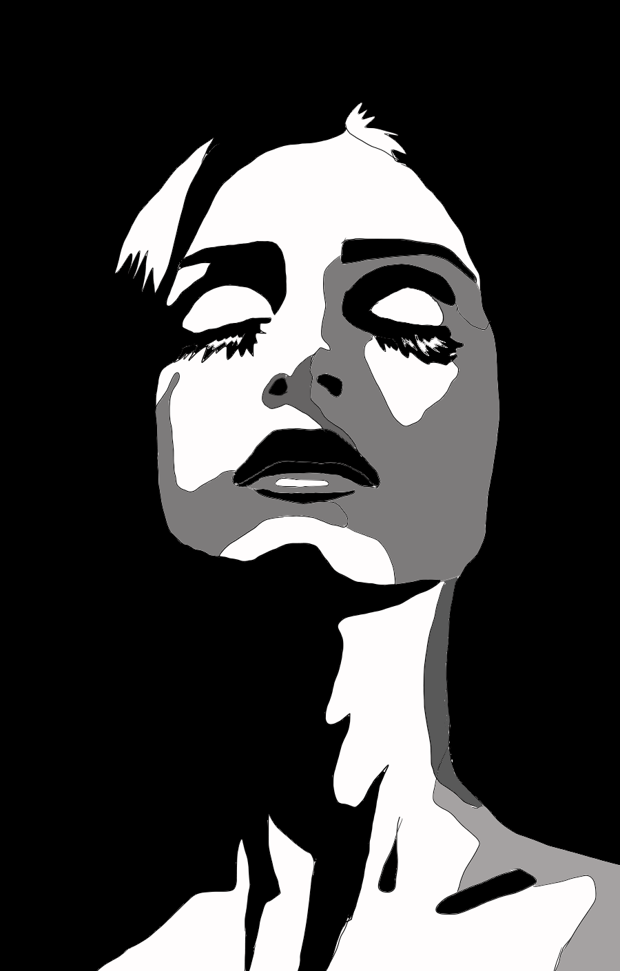 Pin By Waad999 Waad999 On Your Pinterest Likes Silhouette Art Abstract Art Painting Pop Art Drawing