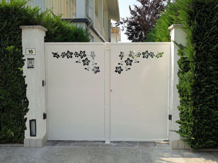 Flower Gate Design Makerbhawan Gate Design Modern Gate Door