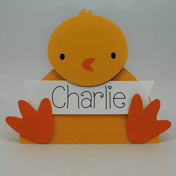 custom easter place cards personalized easter place cards handmade