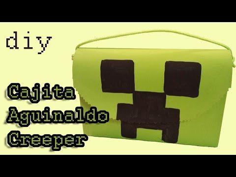 Tasche aus Kartonschachtel - Aguinaldo para fiestas infantiles - Creeper