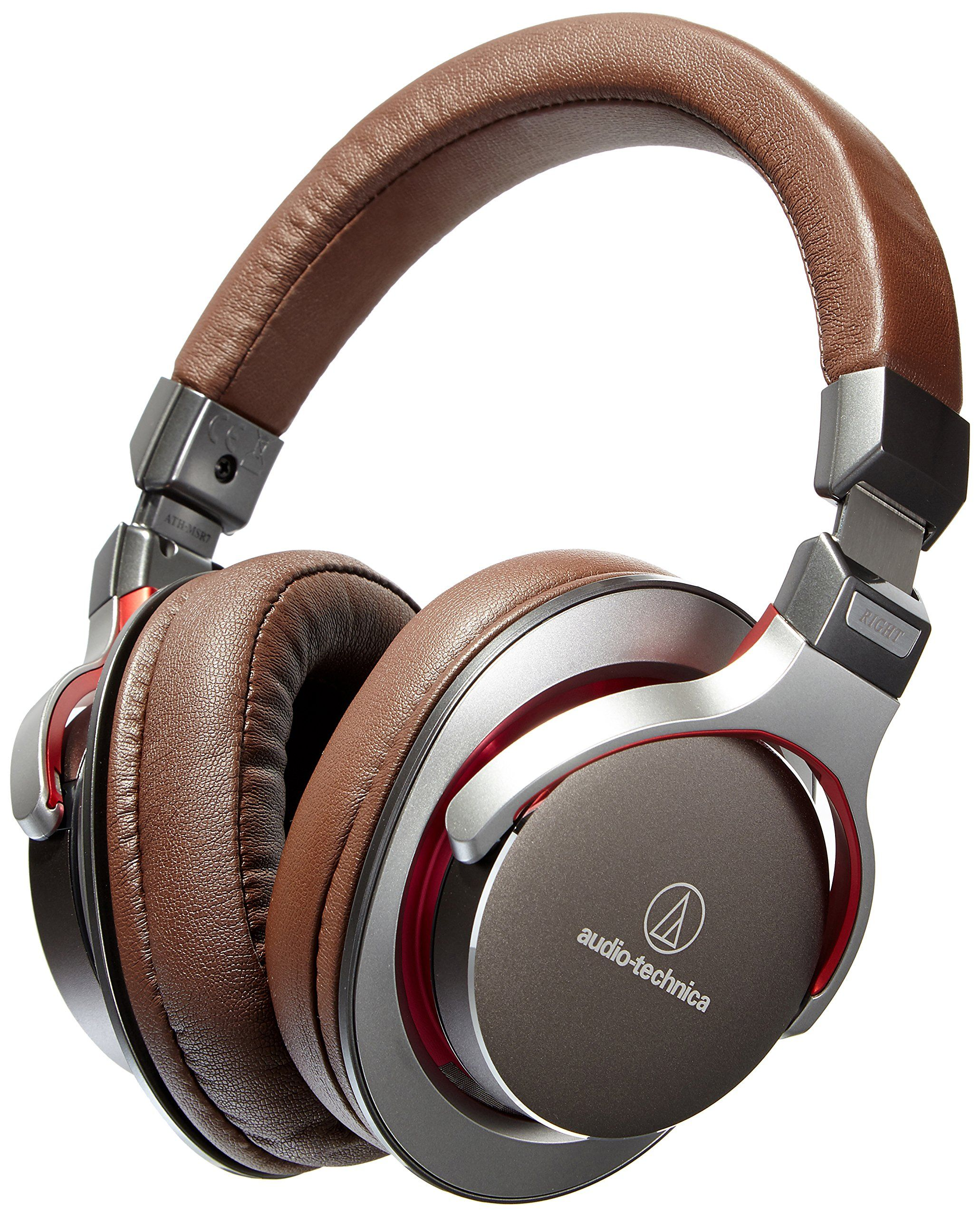 Audio-Technica ATH-MSR7GM SonicPro Over-Ear High-Resolution Audio Headphones…