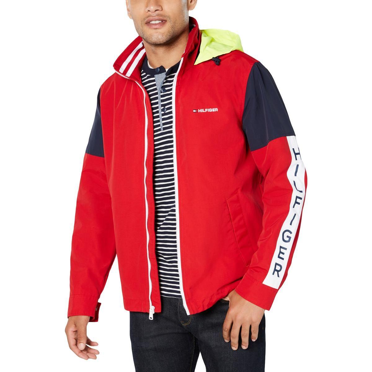 Tommy Hilfiger Mens Colorblock Winter Coat In 2021 Tommy Hilfiger Man Mens Sweatshirts Hoodie Mens Jackets [ 1200 x 1200 Pixel ]