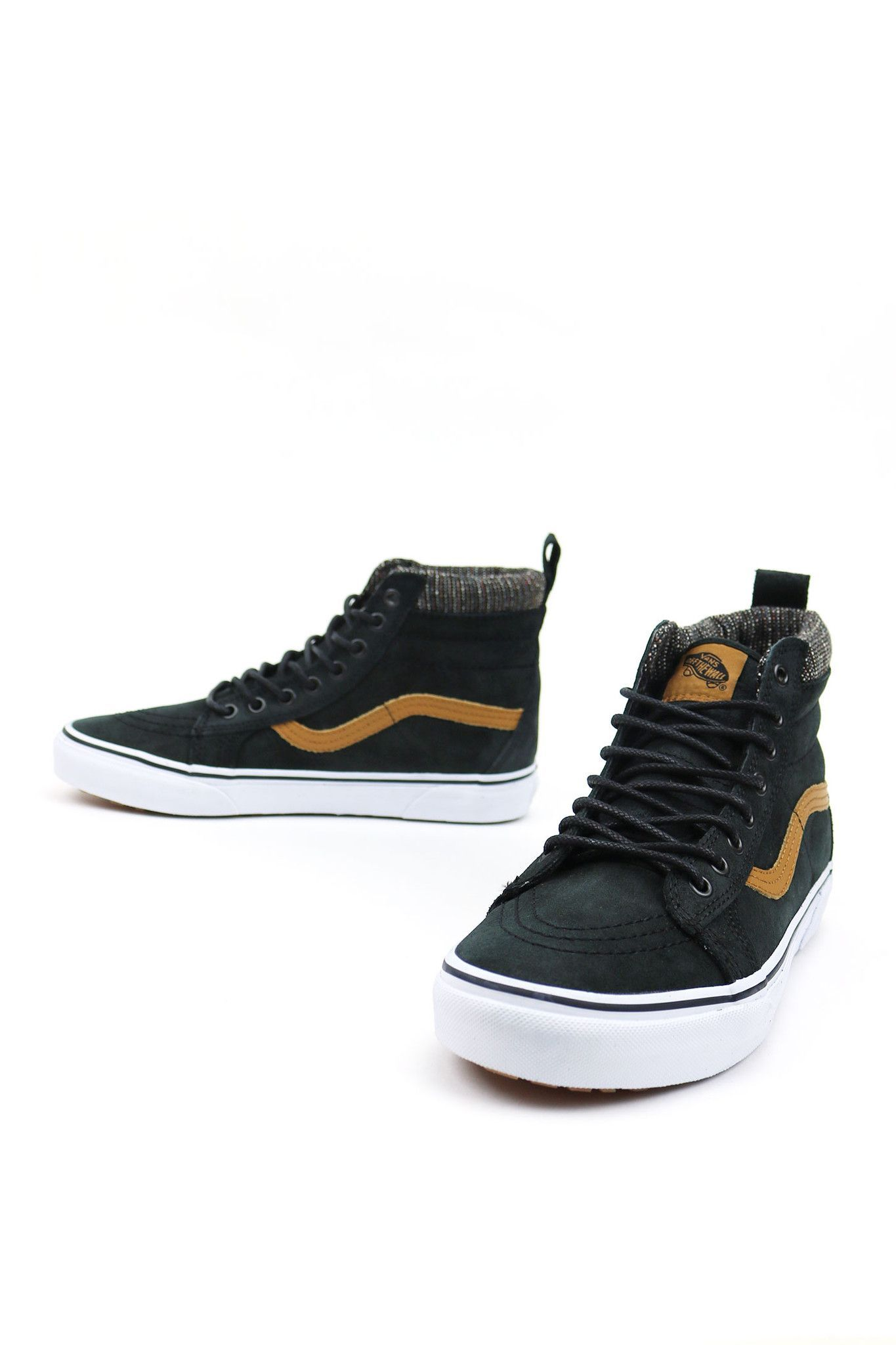 f024879c416fa3 Vans The Sk8-Hi MTE revamps the legendary Vans high top with additions  designed for the elements. Premium Scotchgard®-treated leather and Suede  uppers