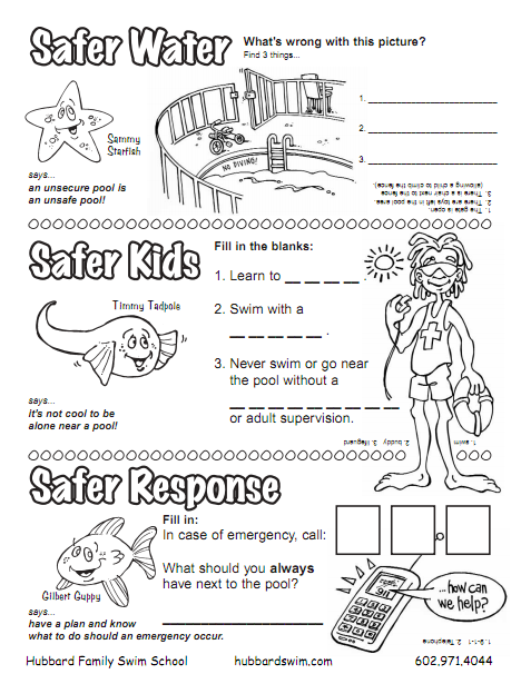 Worksheets Safety Worksheets For Kids kids worksheet water safety pinterest kid worksheets and worksheets