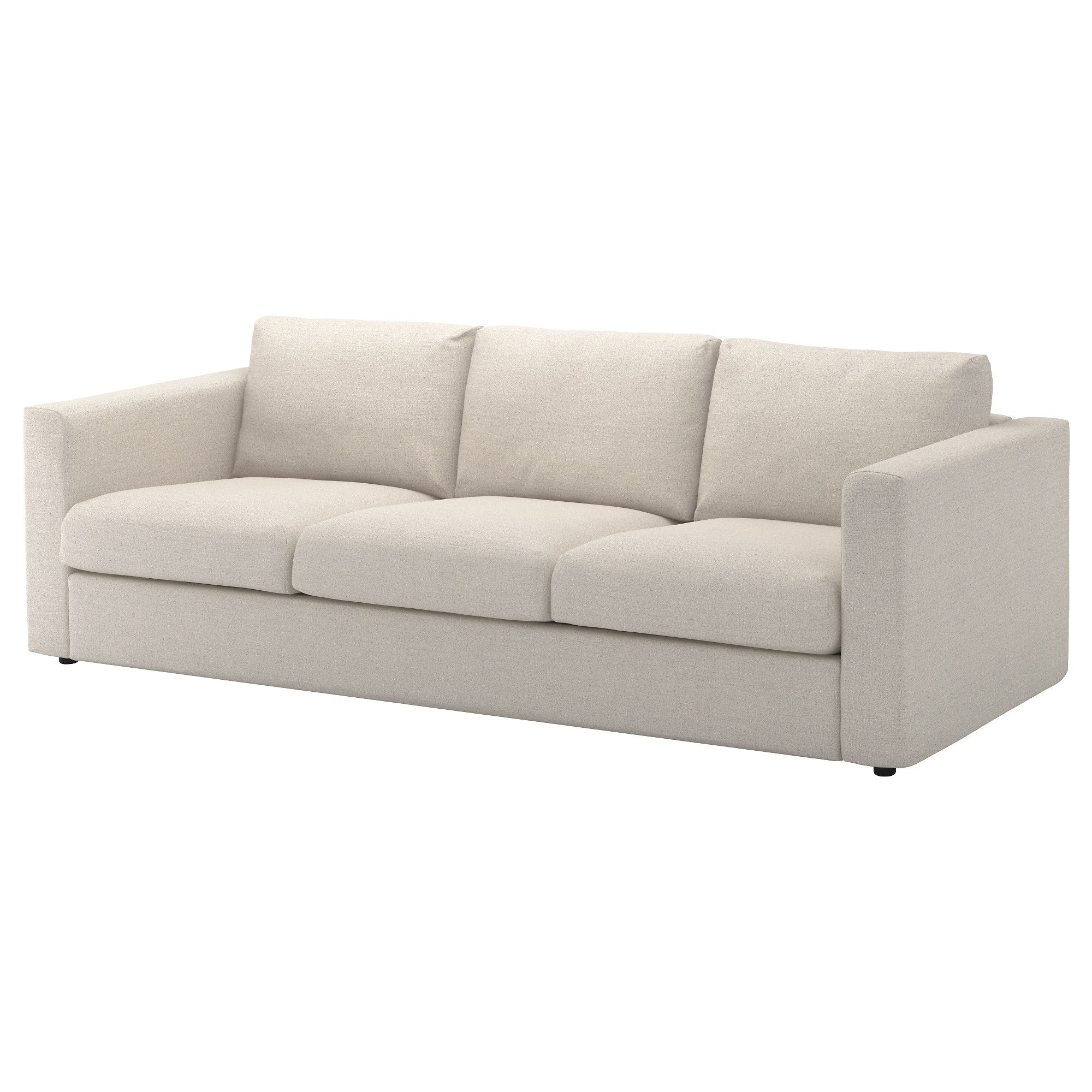 IKEA   VIMLE, Sofa, Gunnared Medium Gray, , This Soft And Cozy Sofa Will  Have A Long Life As The Seat Cushions Are Filled With High Resilience Foam  That ...