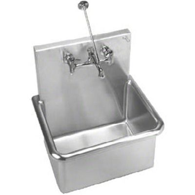 Garage Wall Sinks | Chicago Faucets Components Wall Mounted Service Sink  Faucet And Double .