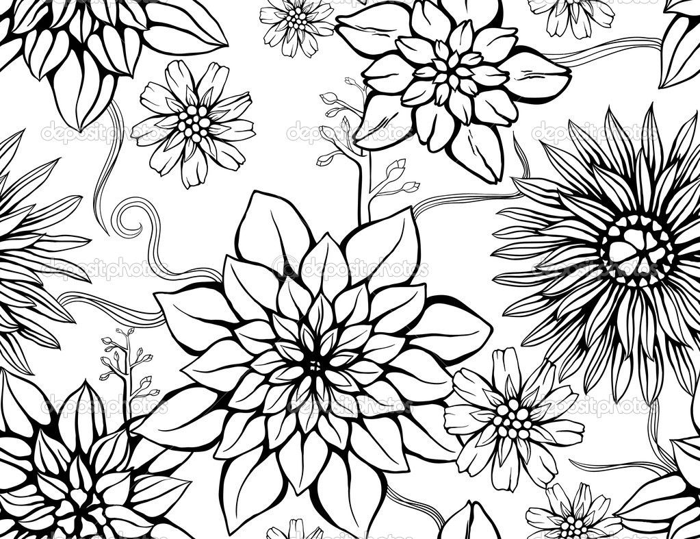 Depositphotos 7320640 Floral Repeating Wallpaper 1023x787