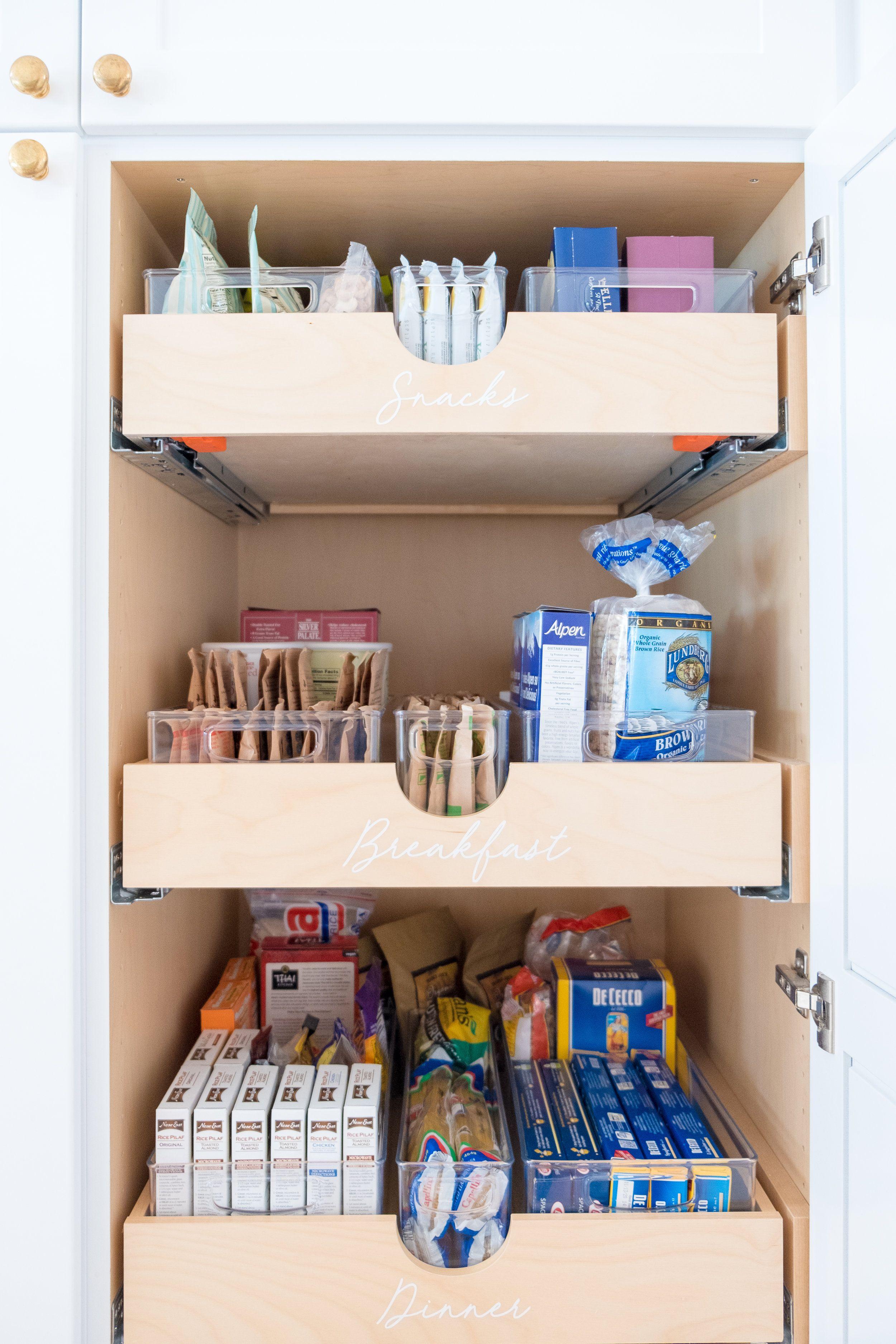 The X Lauren Conrad The Home Edit Diy Kitchen Storage