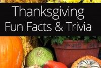 Thanksgiving Fun Facts & Trivia