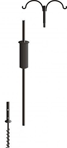 Special Offers Birds Choice 2 Arm Topper Bird Feeder Pole Set with