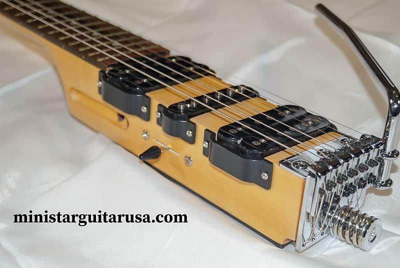 Original S Korean Ministar Castar 3 Hsh Travel Guitar Built In Head Set Amp Fender Scale Bootlegger Guitar Reverb Electric Guitar Electric Guitar Design Guitar