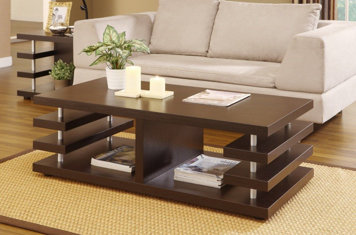 Furniture Of America Boler Stacked Panel Coffee Table Dark Espresso Coffee Table Furniture Sofa End Tables [ 792 x 1200 Pixel ]