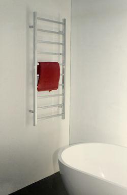 rails échelle radiateurs! Qualité acier inoxydable poli serviette chauffé rails