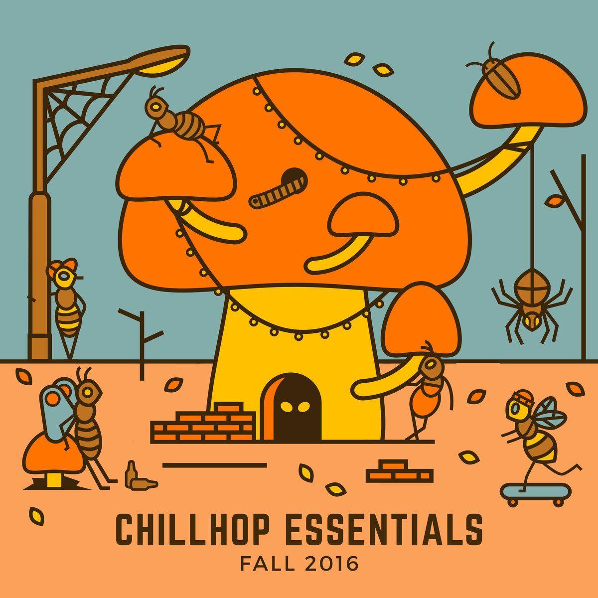 Image result for chillhop essentials 2017 album art Fall