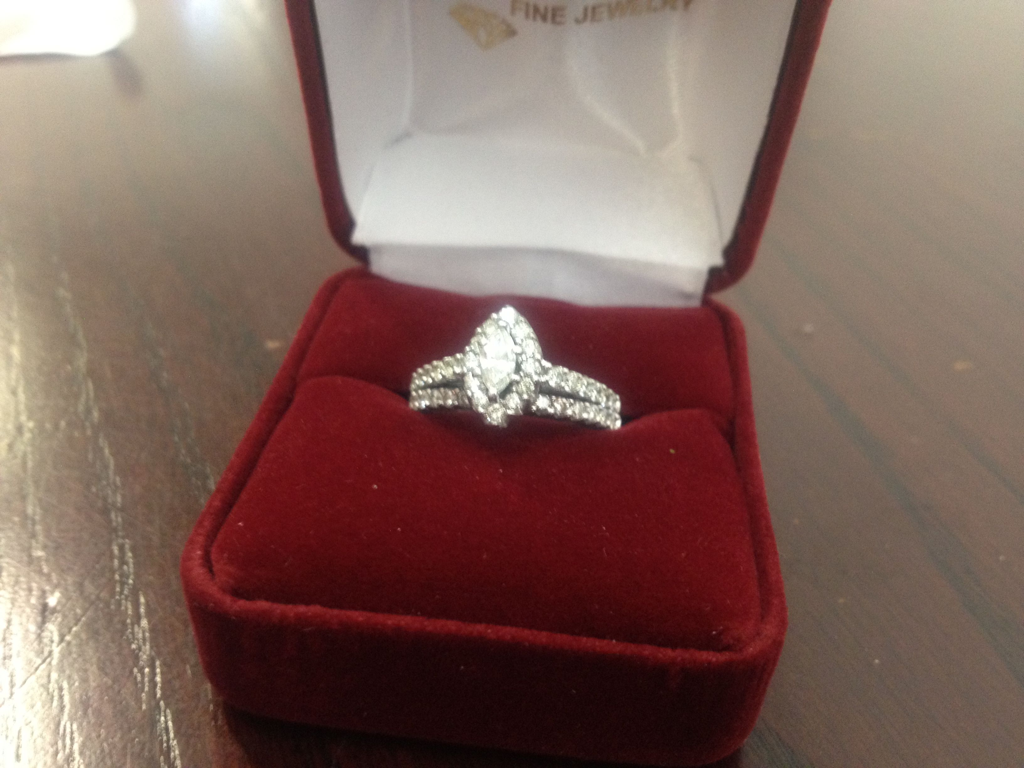 Temporary Engagement Ring Purchased