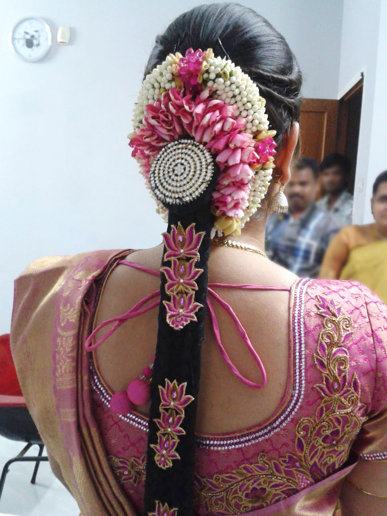 topic of the week - hindu bridal hair styles. tradition to
