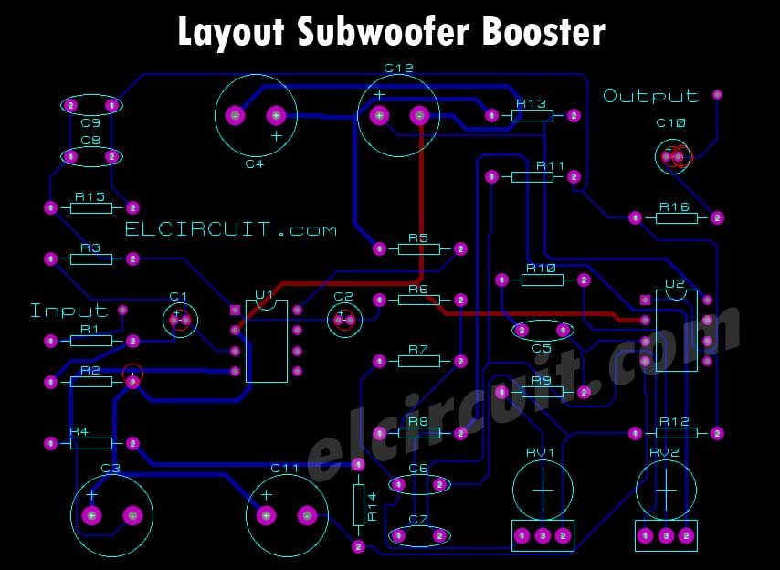 Subwoofer Amplifier Pcb Layout - Pcb Circuits