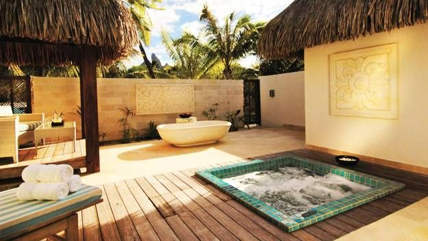15 Beautiful Outdoor Home Spa Design Ideas Outdoor Bathrooms