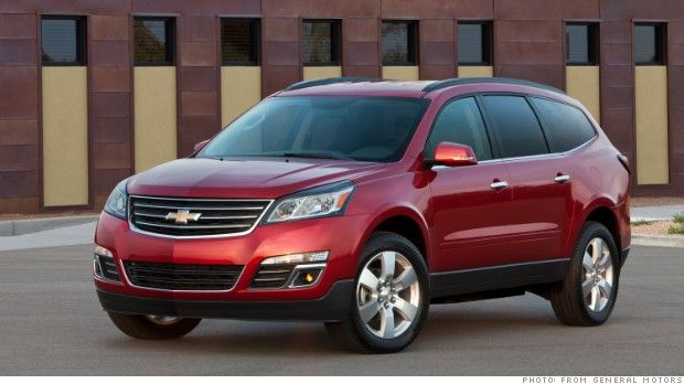 General Motors Recalls Yet Another 2 4 Million Cars Chevrolet Traverse Used Suv Car For Teens