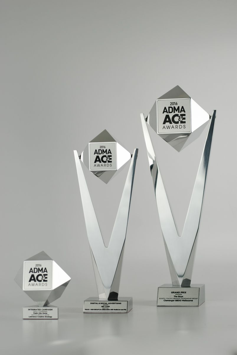 Unity tall modern trophy creative design beautiful materials not glass - Design Awards Is Australia S Leading Maker Of Custom Metal Awards Trophies Medals Plaques Corporate Awards Sports Trophies And More