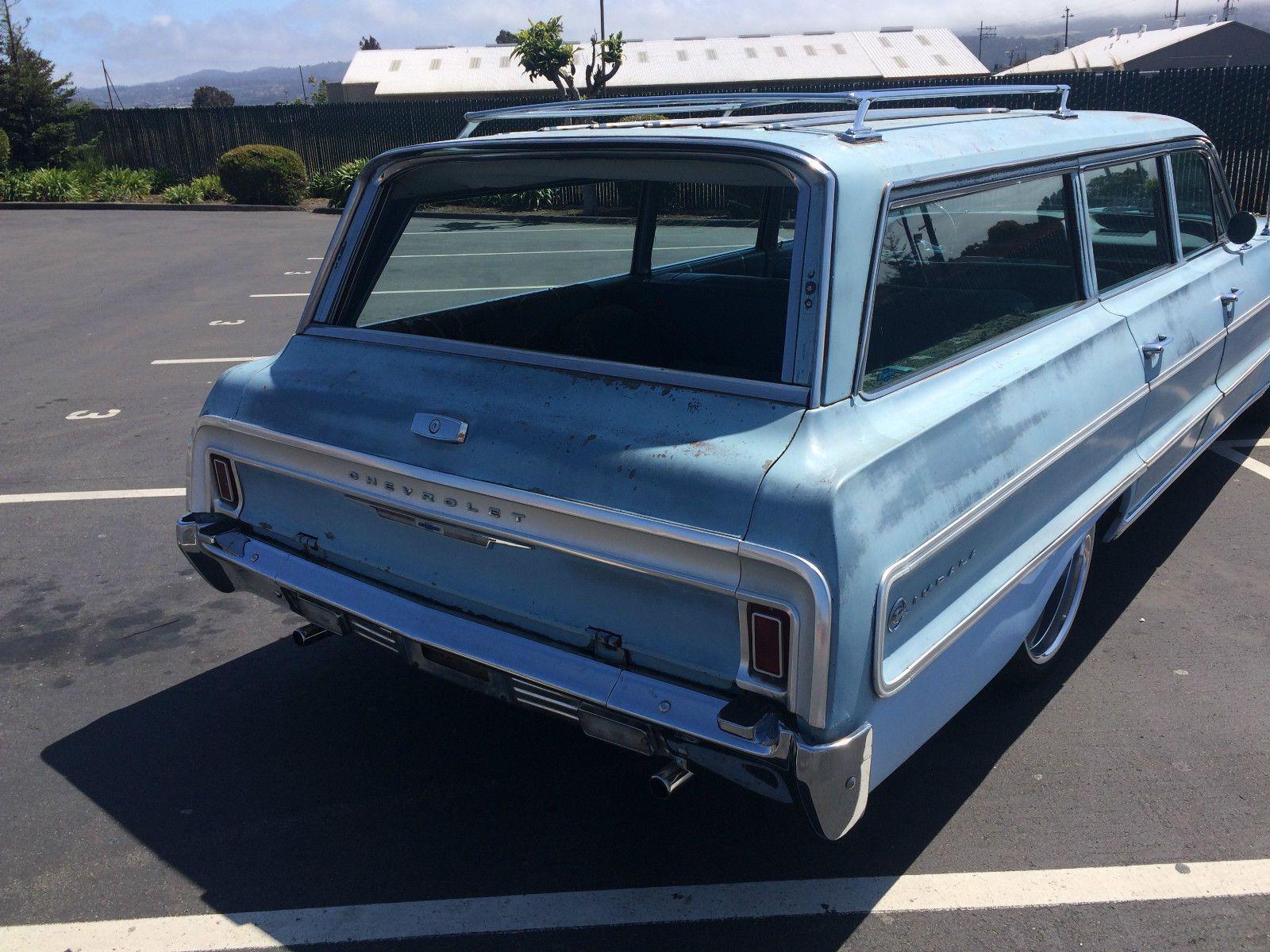 64 Chevy Impala Station Wagon Impala Chevrolet Impala Chevrolet