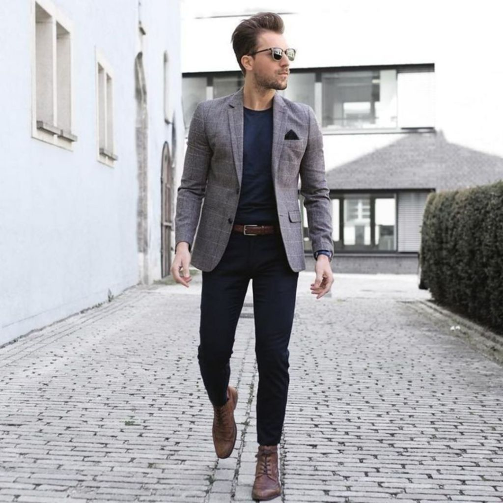 casual, Mens semi formal outfit