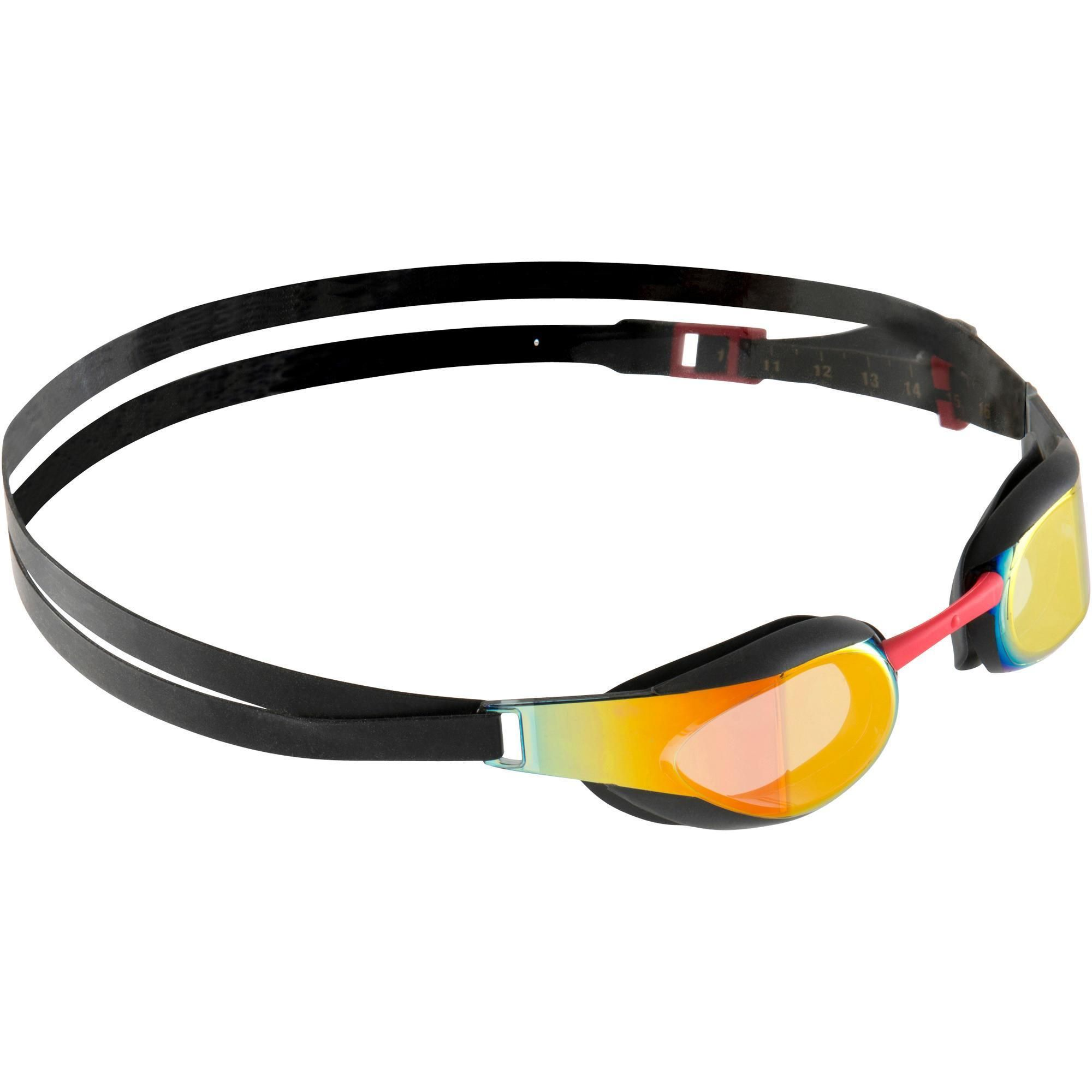 14d85cc639b317 Zwembril Fastskin Elite spiegelglas zwart | sporten - Speedo ...