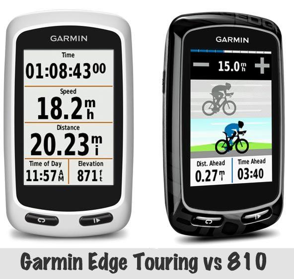 Garmin Edge Touring Vs 810 Garmin Edge Garmin Bike Training