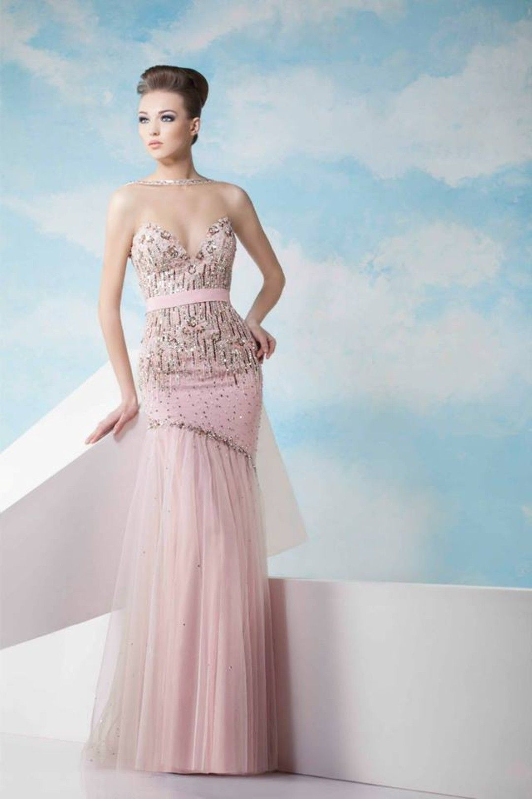 Fabulous Evening Dresses Spring/Summer 2014 by Tony Chaaya | Wedding ...