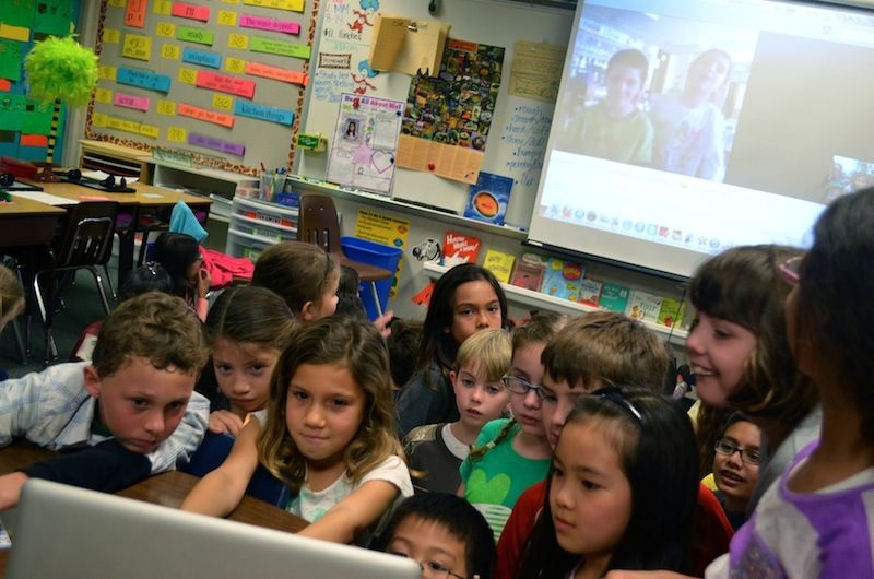 Elementary Classrooms Of The Future : Centurylinkvoice classroom of the future where technology learns