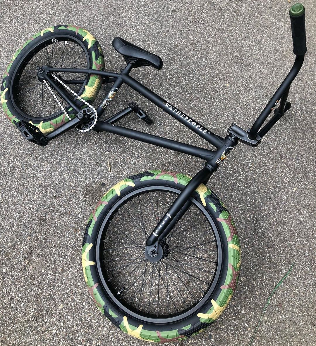 2020 We The People Justice Bike Matte Black Black Bmx Bike Bmx Bikes Bmx Bicycle