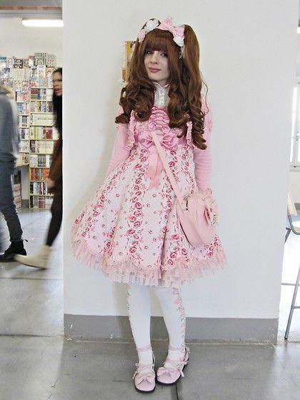 Angelic Pretty Lady Rose, Angelic Pretty Heart Bag, Angelic Pretty Lady Rose Sock